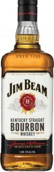 Jim-Beam-White-Label-Bourbon-1-Litre on sale