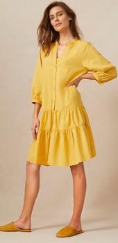 Capture-Gather-Detail-Shift-Dress on sale
