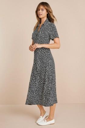 Emerge-Knit-Midi-Shirt-Dress on sale