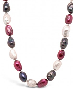 Real-Baroque-Pearl-Ombre-Necklace on sale