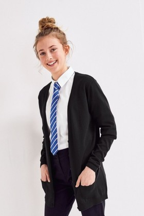Next-Longer-Length-V-Neck-Cardigan-3-16yrs on sale
