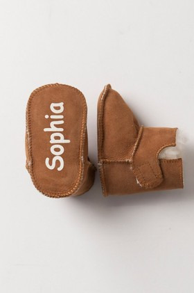 Personalised-Baby-Ugg-Booties on sale