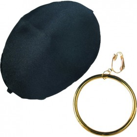 Pirate-Earring-Eye-Patch on sale