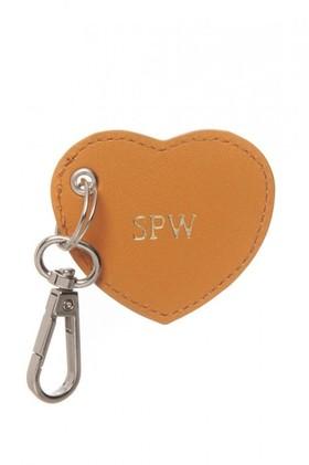 Personalised-Monogram-Heart-Keyring on sale