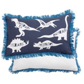 Kids-Prehistoric-Adventure-Oblong-Cushion-by-Pillow-Talk on sale