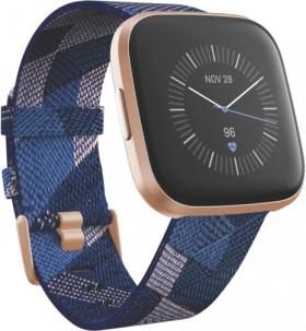 Fitbit-Versa-2-SE-NavyPink-Woven on sale