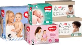 Huggies-Jumbo-Ultra-Dry-or-Ultimate-Nappies on sale