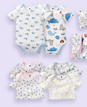 Dymples-2-Pack-Print-Bodysuits on sale