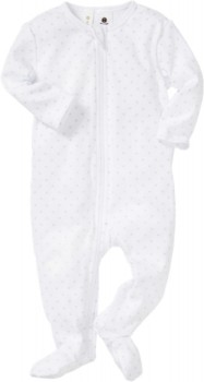 Dymples-Pin-Dot-Coverall-Grey-Print on sale