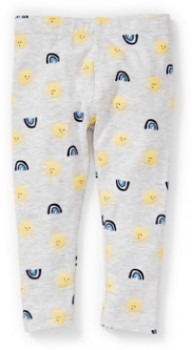 Dymples-Baby-Sunshine-Print-Legging-Grey on sale
