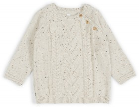 Dymples-Cable-Knit-Pullover on sale