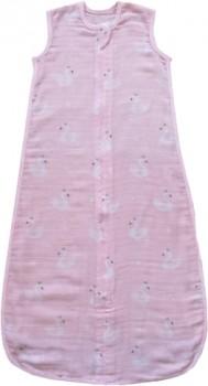 NEW-Plum-Muslin-Sleep-Bag-Pink on sale