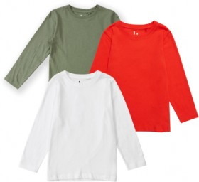 Brilliant-Basics-Kids-Long-Sleeve-Plain-Tees on sale