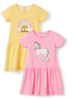 K-D-Kids-Placement-Print-Dress on sale