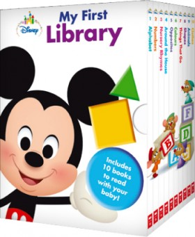 Disney-Baby-My-First-Library-Box-Set on sale