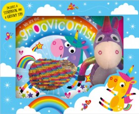 NEW-We-are-the-Groovicorns-Book-and-Plush-Boxed-Set on sale