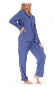 Brilliant-Basics-Womens-Pyjama-Set-Blue on sale