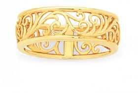 9ct-Gold-Filigree-Dress-Ring on sale