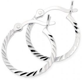Hoop-Earrings-in-Sterling-Silver on sale