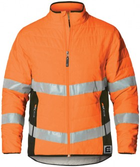 ELEVEN-Hi-Vis-Quilted-Jacket-with-Bio-Motion-Tape-Pattern on sale