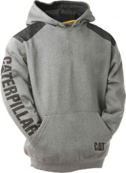 CAT-Logo-Panel-Hoodie on sale