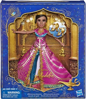 Disney-Aladdin-Glamorous-Jasmine-Deluxe-Fashion-Doll on sale