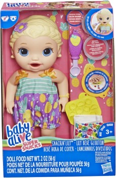 Baby-Alive-Snackin-Lily on sale