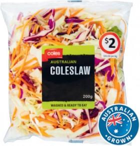 Coles-Australian-Coleslaw-200g-Pack on sale
