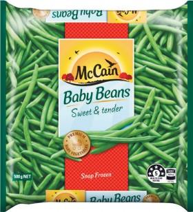 McCain-Baby-Beans-500g on sale