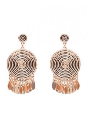 Amber-Rose-Scroll-Earrings on sale