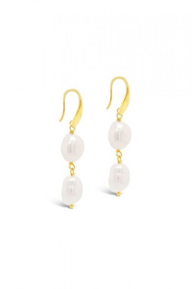 Fairfax-and-Roberts-Baroque-Pearl-Double-Drop-Earring on sale