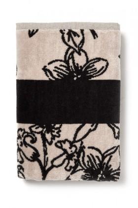 Floral-Velour-Bath-Towel on sale