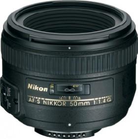 Nikon-Nikkor-AF-S-50mm-f1.4G-Portrait-Lens on sale