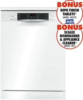 Bosch-Freestanding-Dishwasher-White on sale