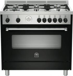 La-Germania-Americana-90cm-Dual-Fuel-Upright-Cooker on sale