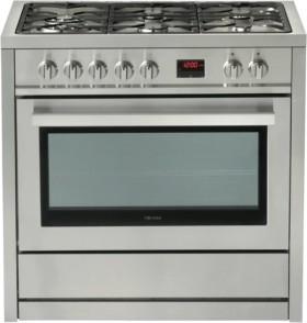 Technika-90cm-Dual-Fuel-Upright-Cooker on sale