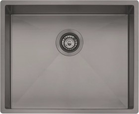 Oliveri-Spectra-Single-Bowl-Sink-Gunmetal on sale