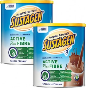 Sustagen-Hospital-Formula-Active-Plus-Fibre-840g-Range on sale