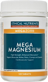 Ethical-Nutrients-Megazorb-Mega-Magnesium-120-Tablets on sale
