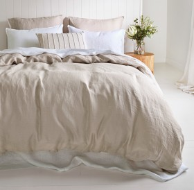 Australian-House-Garden-Sandy-Cape-Quilt-Cover-Set-in-Moonbeam on sale
