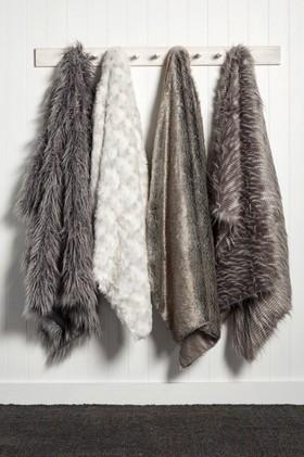Ascot-Faux-Fur-Throw on sale