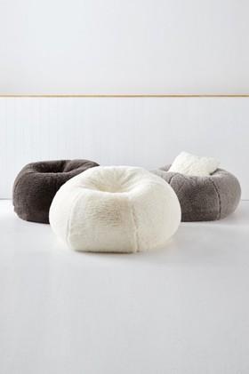 Shetland-Faux-Fur-Beanbag on sale