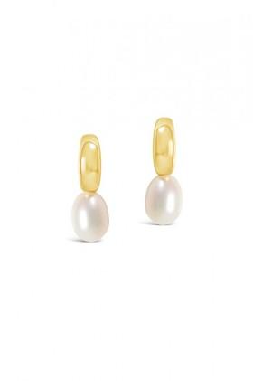 Fairfax-and-Roberts-Baroque-Pearl-Half-Moon-Mini-Earring on sale