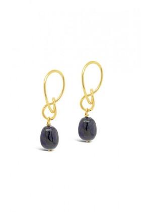 Fairfax-Roberts-Real-Freshwater-Pearl-Modern-Twist-Drop-Earrings on sale