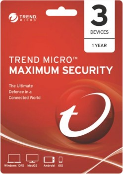 Trend-Maximum-Security-3-Device-1-Year on sale