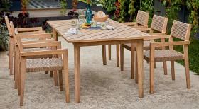 Bondi-6-Seater-Timber-Dining-Set on sale