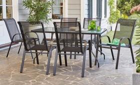 Aiden-6-Seater-Steel-Dining-Set on sale