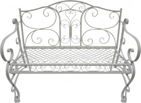 Cotswolds-2-Seater-Steel-Bench-Seat on sale