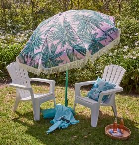 1.8m-Beach-Umbrella-with-Tassels on sale