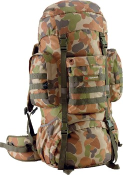 Caribee-70L-Platoon-Rucksack on sale